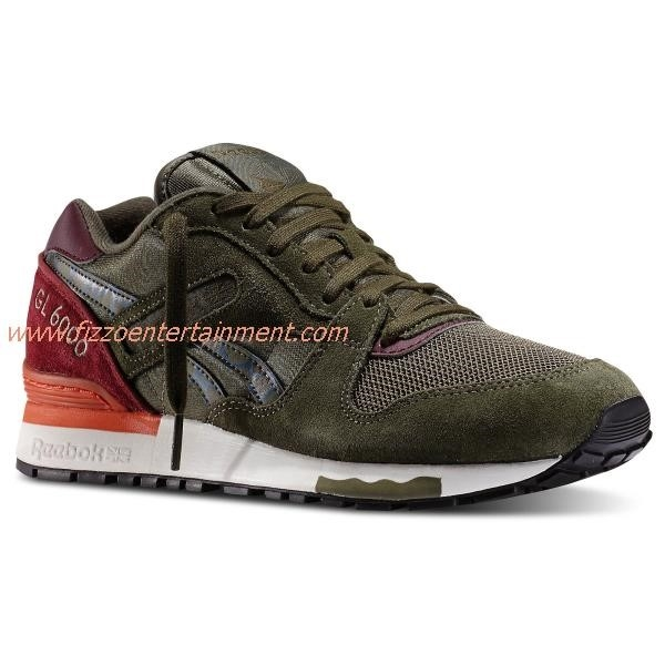 Reebok Olive Green Shoes