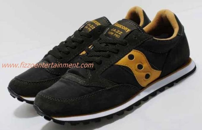 Saucony Black And Gold