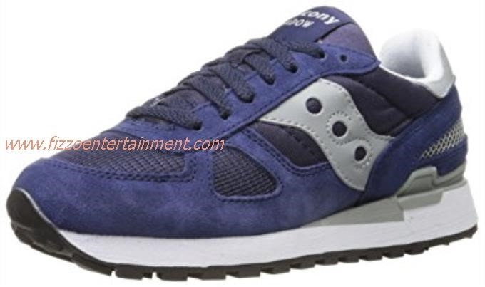 Saucony Blue And White